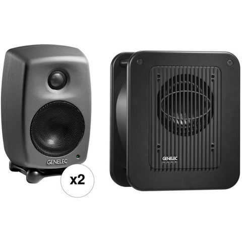 Genelec 8010.LSE™ StereoPak all set view