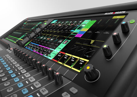 Allen & Heath AH-AVANTIS 64 zoomed controls