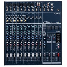The Yamaha EMX5014C Powered audio mixer (Top View)