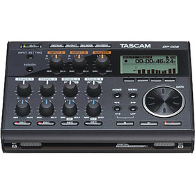 Tascam DP-006 6 TRACK DIGITAL POCKETSTUDIO front view