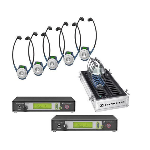 Sennheiser SR2020-D-US DUAL RF system package for two channel applications