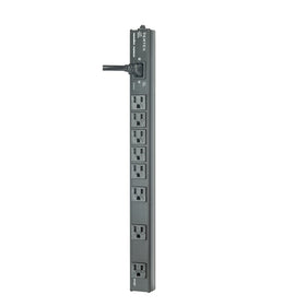 Panamax VT-EXT, 12A Power Distribution (No Surge Protection), 8 Outlets, Vertical Rack Strip, 10Ft IEC Cord