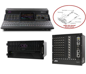 AVID 9935-72577-00 VENUE | S6L-16C-112 (Stage 16) S6L-16C all set view