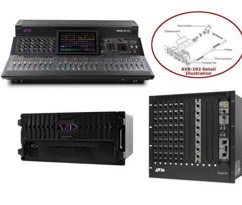 AVID 9935-72567-00 VENUE | S6L-48D-192 S6L-48D all set view