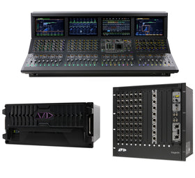 Avid VENUE S6L 32D all set view