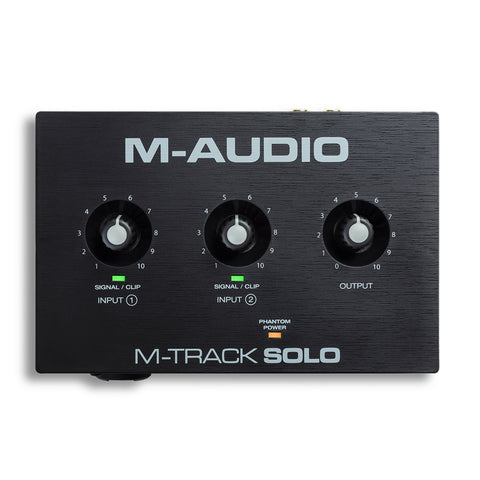 M-Audio M-TRACK SOLO Front
