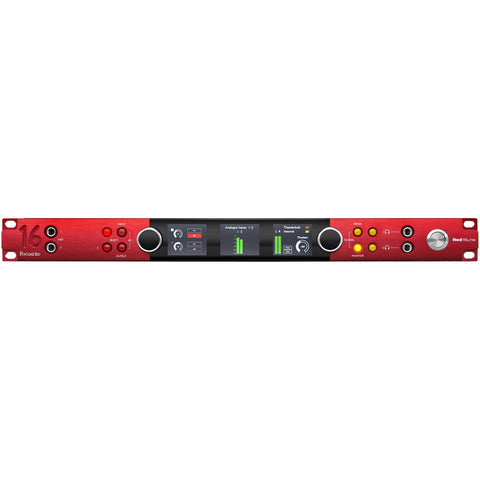 Focusrite Red 16Line 64 In/64 Out Thunderbolt 3 and Pro Tools|HD Interface with Dante
