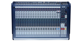 Soundcraft GB2 16ch Front Top View