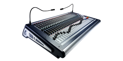 Soundcraft GB2 24ch Angle View