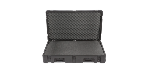 SKB 3R3821-7B-CW Front View with Cubed Foam