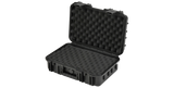 SKB 3i-1610-5B-L Left Angle Open View with layered foam