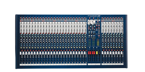 Soundcraft LX7ii, 24ch Front View