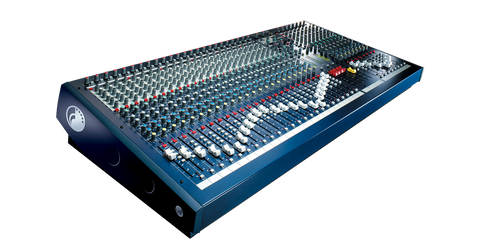 Soundcraft LX7ii Angle View
