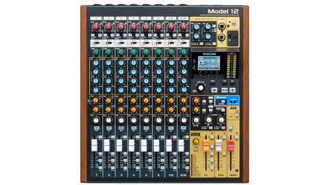 Tascam MODEL 12 Top View
