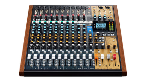 Tascam MODEL 16 Top Front View