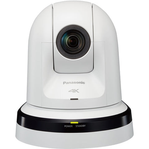Panasonic AW-UE70WPJ, 4K & HD PTZ Camera with Recording, 4K Integrated Day/Night PTZ Indoor Camera (White)
