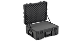SKB 3R2217-10B-CW Right Angle View with Cubed Foam (Open)