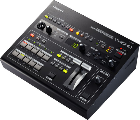 Roland V-40HD Top Angle View