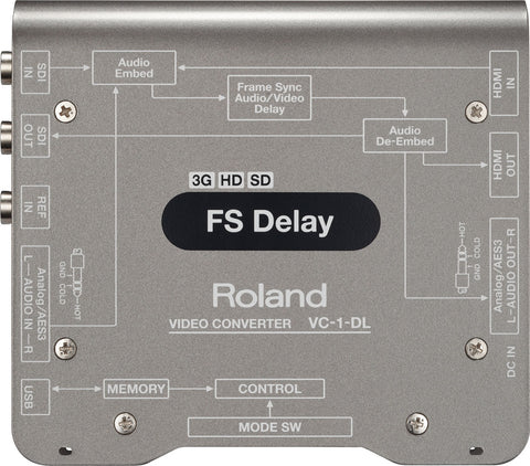 Roland VC-1-DL Top View
