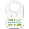 Mini Beach Person Baby Bib