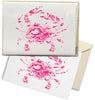 Pink Camo Crab Box Note Cards
