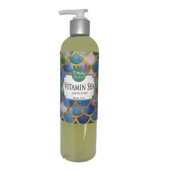 Vitamin Sea Lotion & Liquid Soap