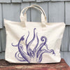 Octopus Zipper Tote