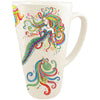 Boho Mermaid Batik Latte Mug