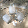 Scallop Shell Rocks Glass Set