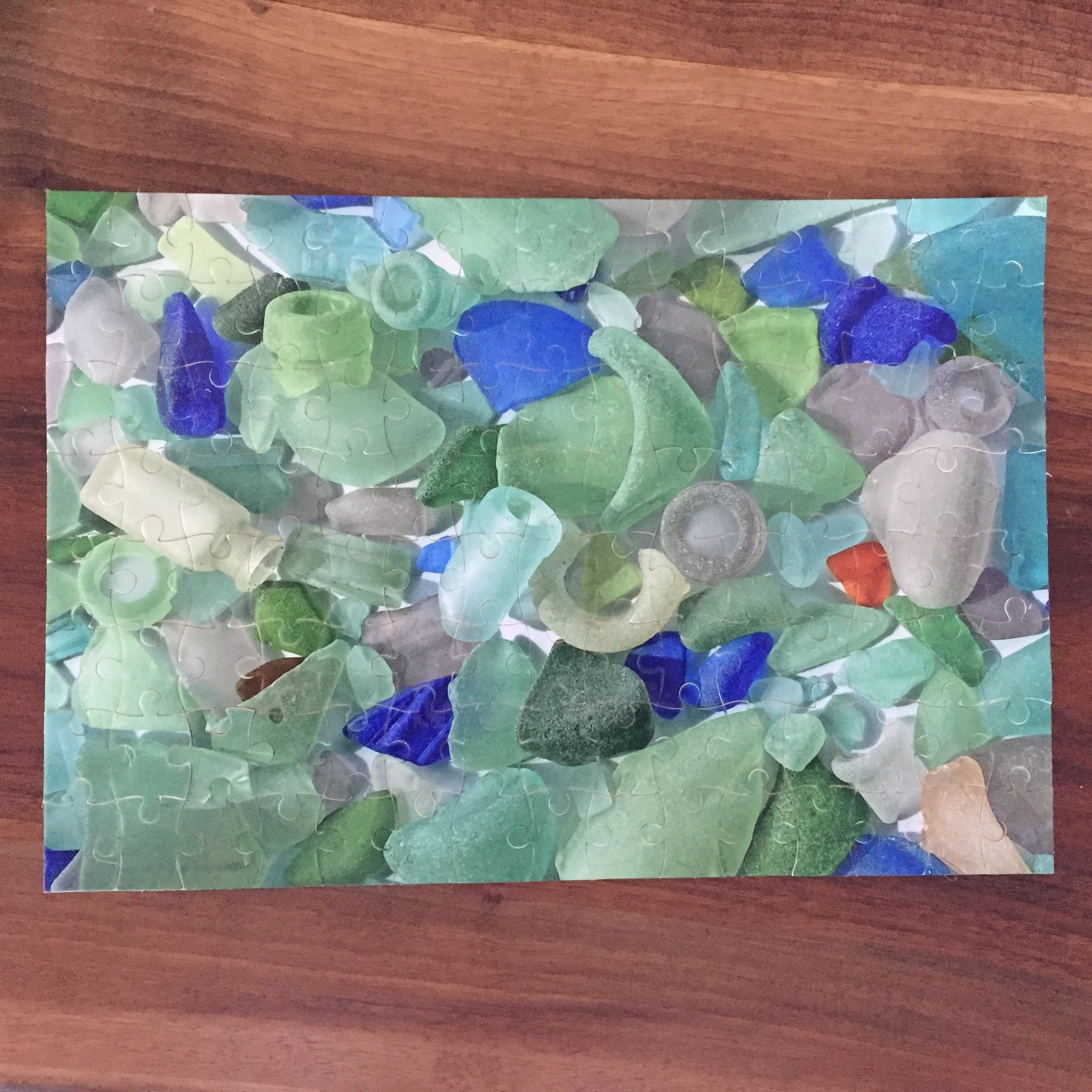 Sea Glass Puzzle