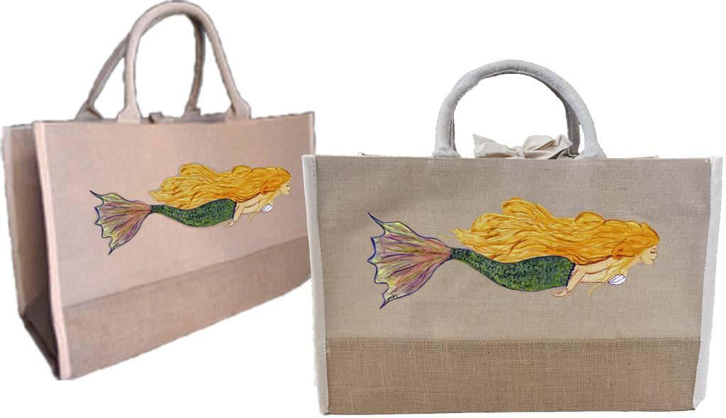 Mermaid Two Tone Tote