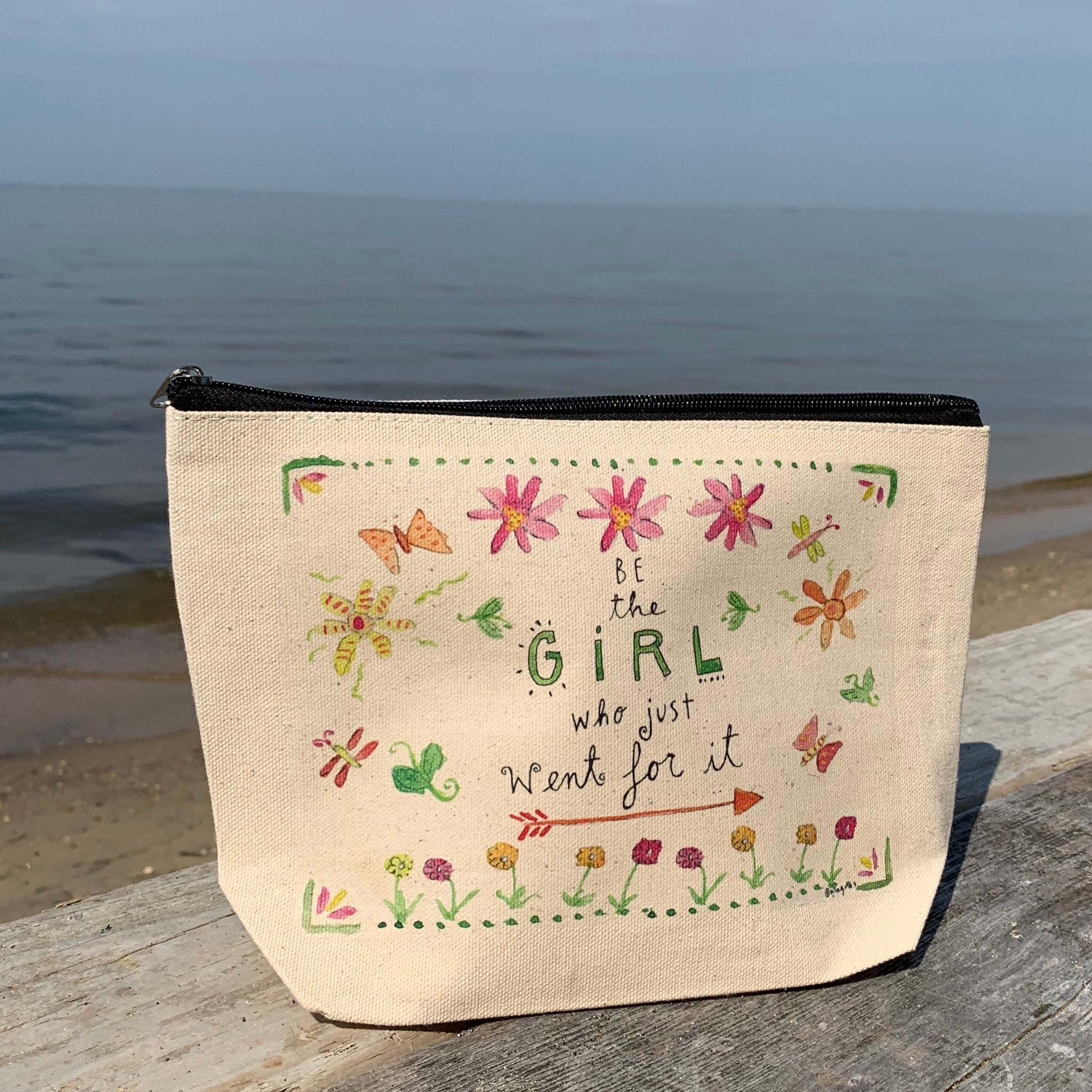 Be The Girl Zipper Pouch