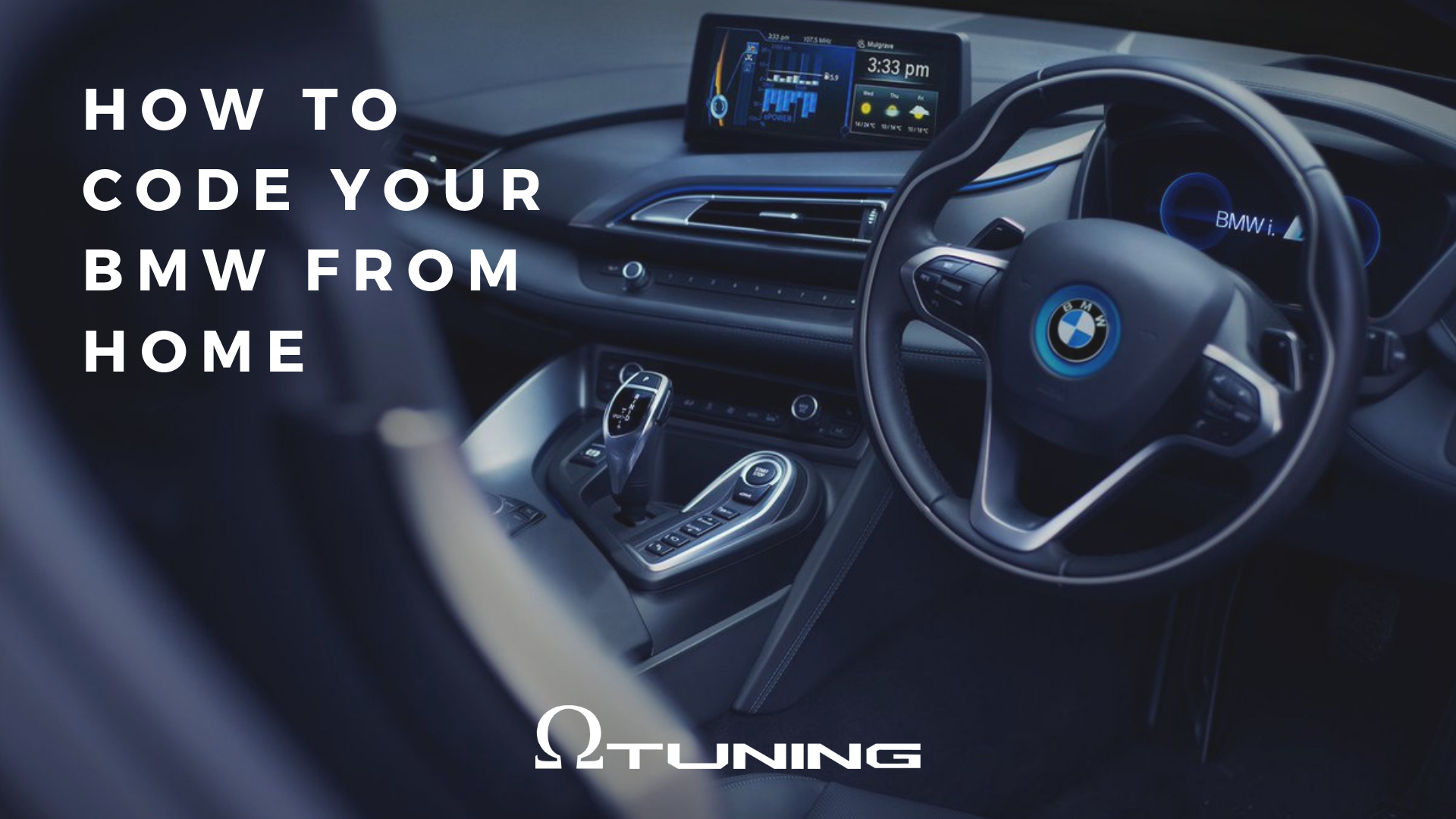How To Code Your BMW From Home  – Omega Tuning
