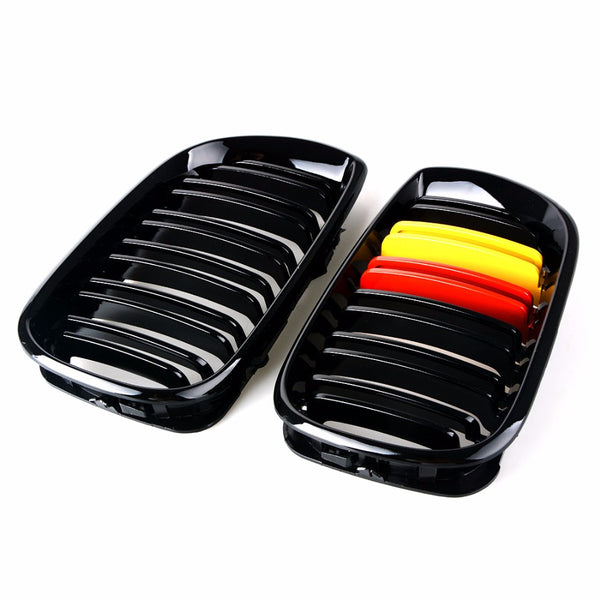 BMW M4 Style Grill German Flag [E46 LCI] - Omega Tuning