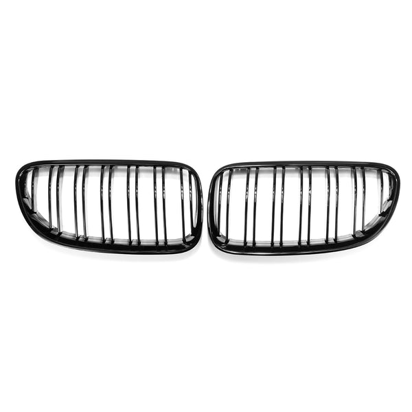 BMW M4 Style Grill [E92 / E93] Gloss Black - Omega Tuning