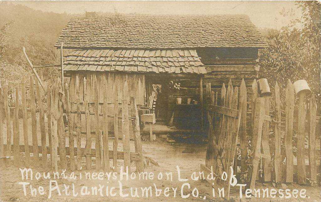 Atlantic Lumber Co - TN - Mountaineer Dog Trot  log cabin - BOSTON