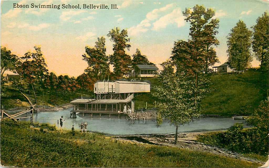 Belleville - Illinois - IL - Ebson Swimming School - Buddy Ebsen