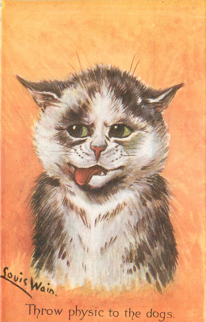Louis Wain Cat Postcard