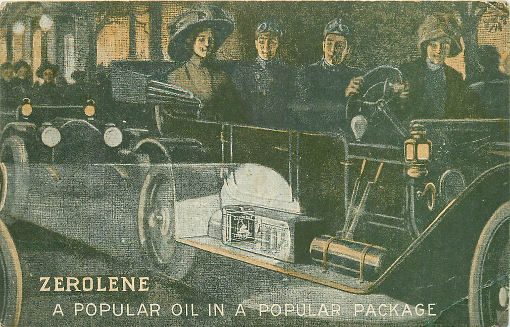 Zerolene - Standard Oil - Advertisement 1911 - Automobile