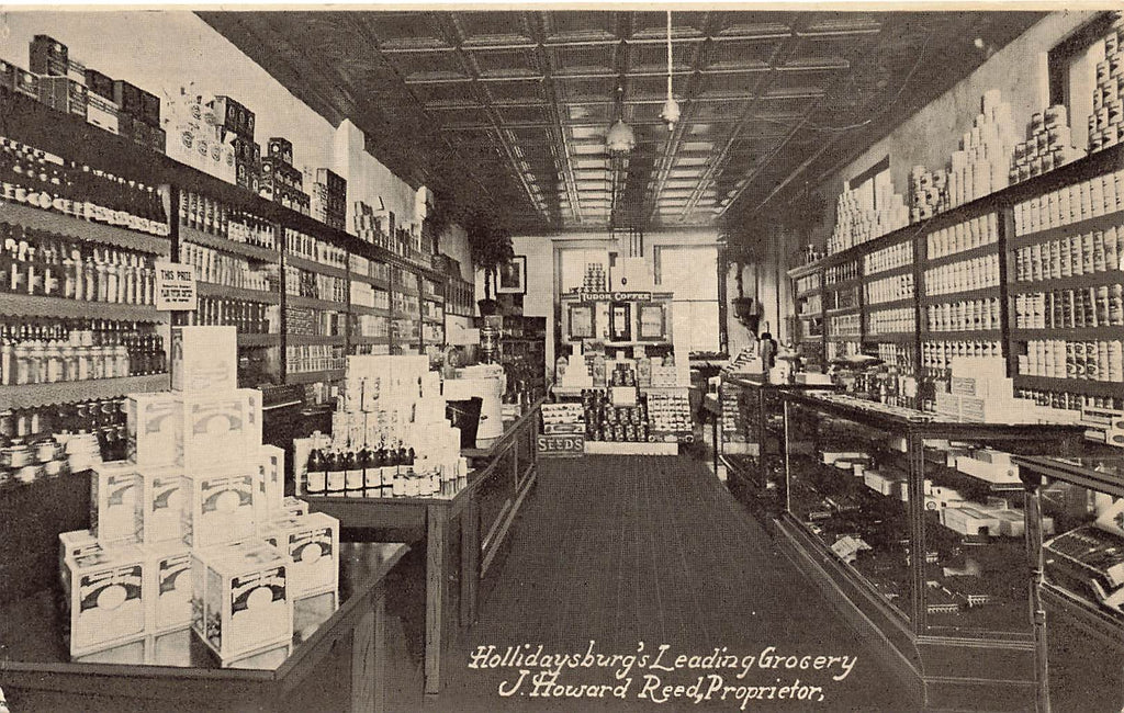 Hollidaysburg PA - Grocery Store Interior - J. Howard Reed