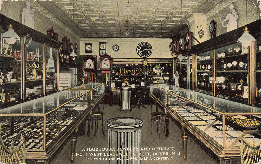 Dover NJ - Hairhouse Jeweler Optician - Interior - W Blackwell St