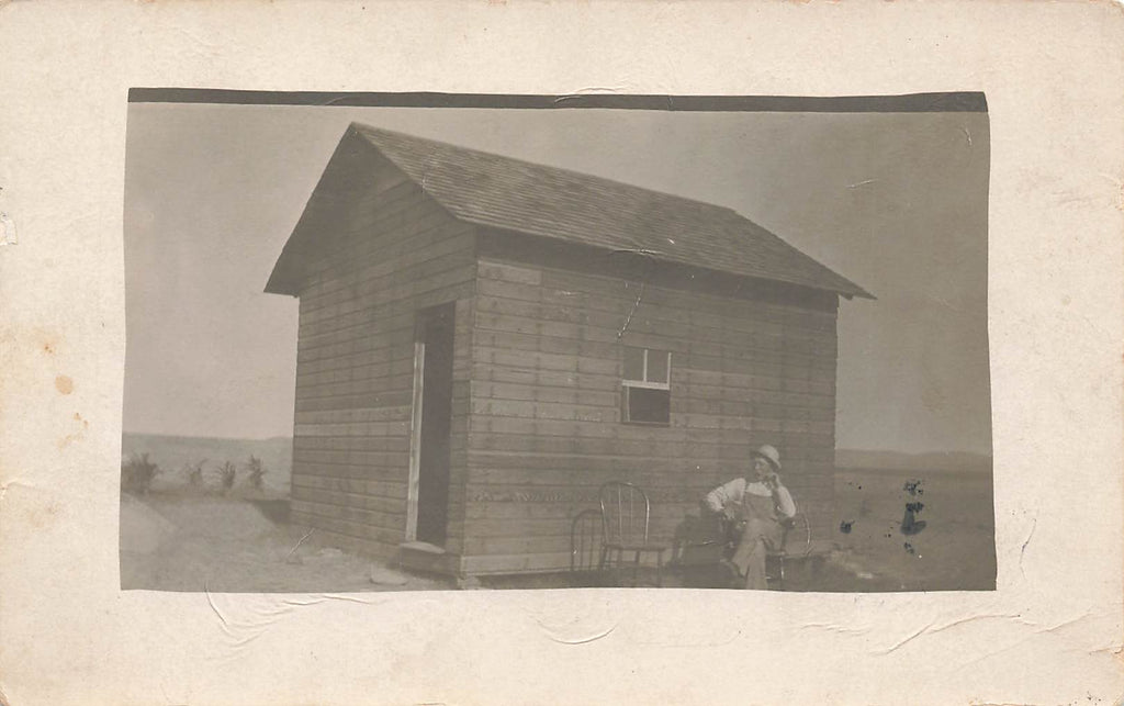 Ideal SD South Dakota - Tripp County - 1910 RPPC