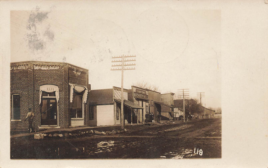 La Place - IL Illinois - RPPC - Bank - Hawthorne Machinery - Piatt County