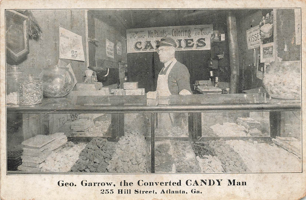 Atlanta GA Georgia - Geo Garrow - Converted CANDY Man - Hill Street