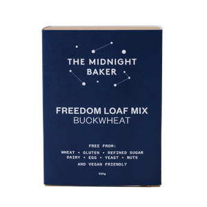 The Midnight Baker Buckwheat Freedom Loaf Mix