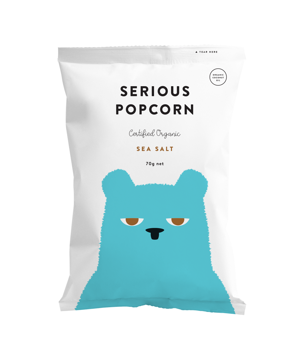 Serious Popcorn Sea Salt
