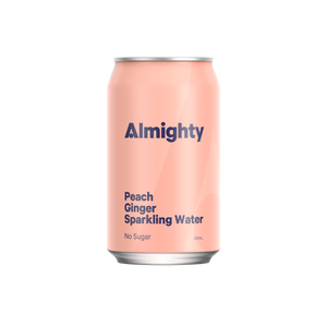 Peach & Ginger Sparkling Water
