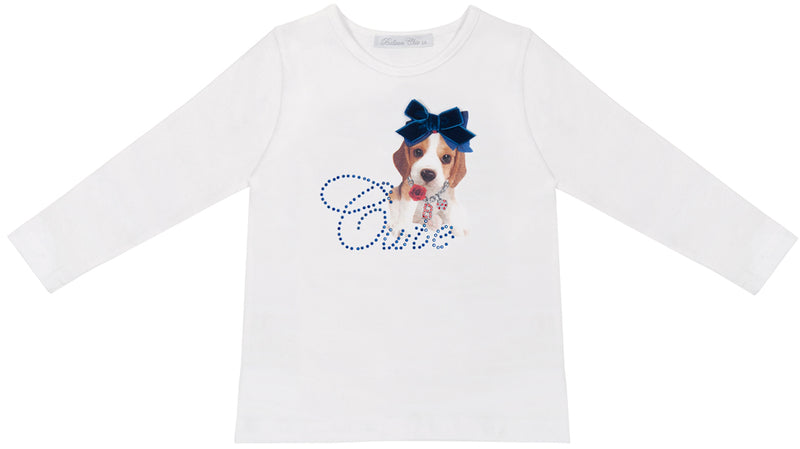 Camiseta perrito Balloon Chic