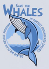 "T-Shirt ""Save the Whales"" Niño Dr Kid"