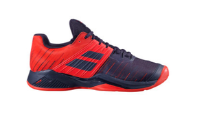 BABOLAT Men's Propulse Fury Clay (Black/Red)